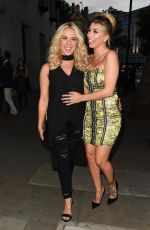 GABBY ALLEN and OLIVIA BUCKLAND at LOTD Launch Party in London 08/16/2017