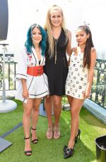 GABI and NIKI DEMARTINO at Beautycon Festival Weekend Revlon Kick-off Brunch in Los Angeles 08/11/2017
