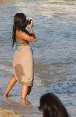 GABRIELLE UNION in Swimsuit on the Beach in Mykonos 08/24/2017