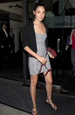 GAL GADOT Arrives at Mr Chow in Beverly Hills 08/17/2017