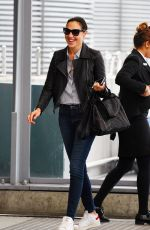 GAL GADOT at Heathrow Airport in London 08/01/2017