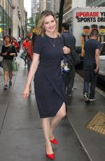 GEENA DAVIS Leaves Today Show in New York 08/18/2017