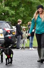GEMMA ATKINSON at Charity Dog Walk in Manchester 08/03/2017