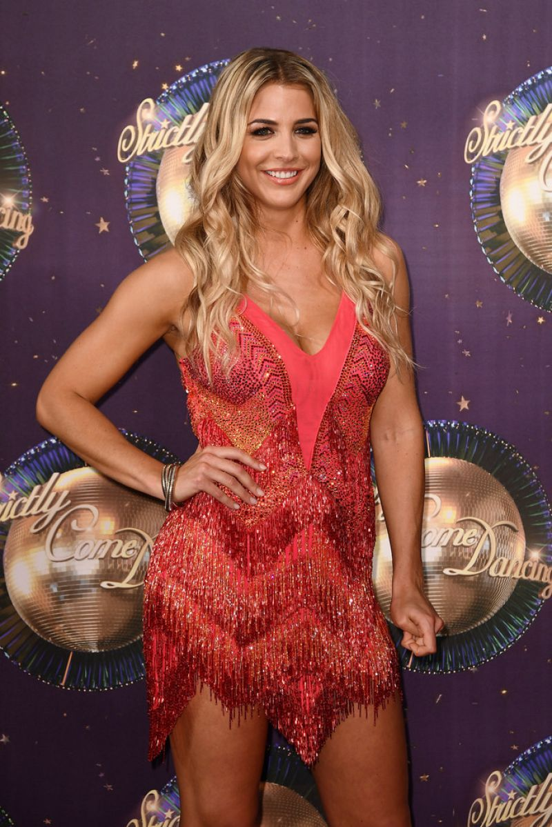 GEMMA ATKINSON at Strictly Come Dancing 2017 Launch in London 08/28/2017
