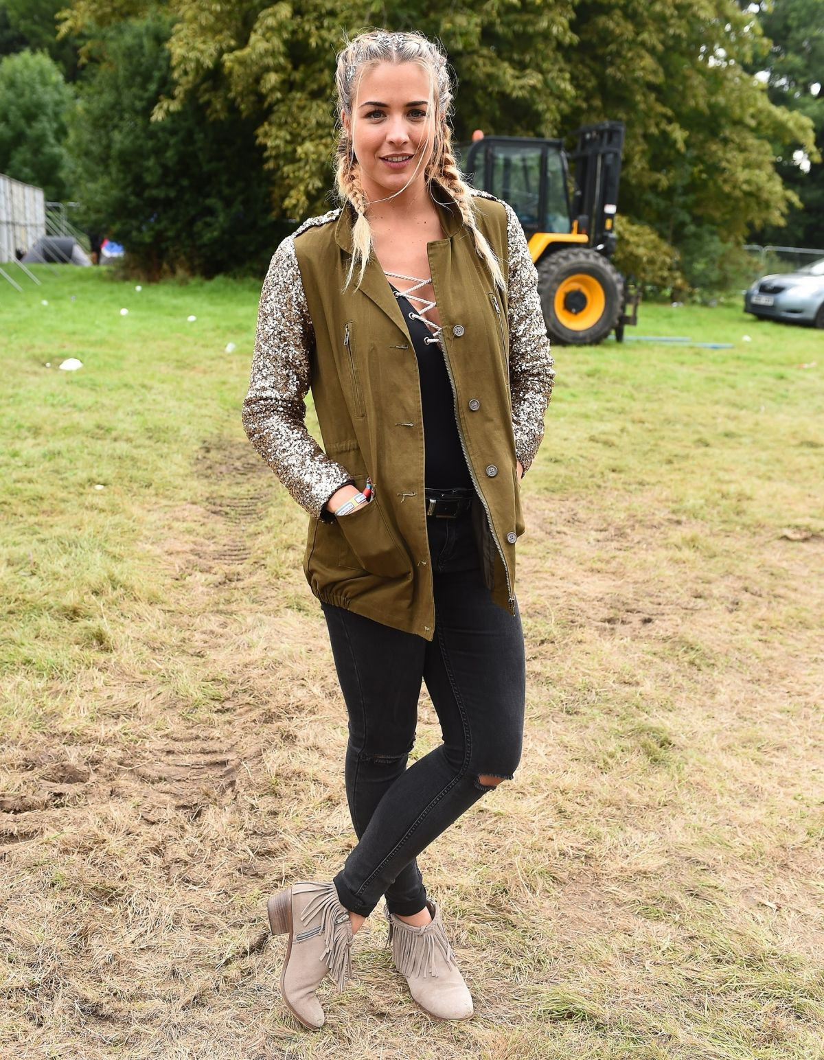 GEMMA ATKINSON at V Festival in Chelmsford 08/19/2017