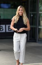 GEMMA ATKINSON Leaves BBC Breakfast Studio in Manchester 08/10/2017