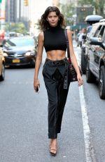GEORGIA FOWLER at 2017 Victoria's Secret Fashion Show Casting in New York 08/21/2017
