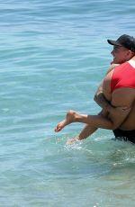GEORGIA HARRISON in Bikini on Holiday in Marbella 08/03/2017