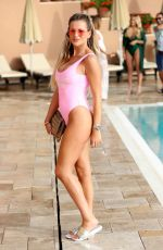 GEORGIA KOUSOULOU at The Only Way is Essex Cast in Marbella 08/08/2017