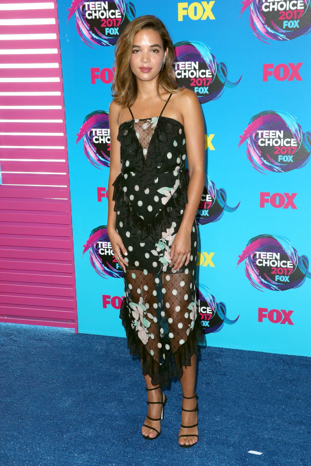 GEORGIE FLORES at Teen Choice Awards 2017 in Los Angeles 08/13/2017