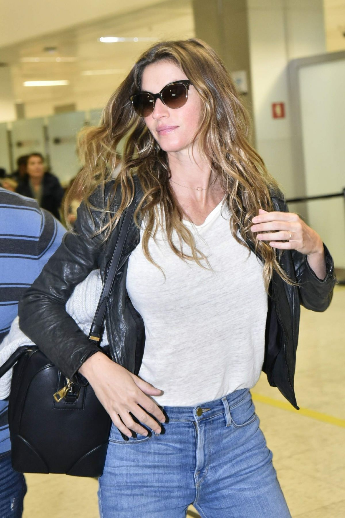 GISELE BUNDCHEN at International Airport in Sao Paulo 08/15/2017