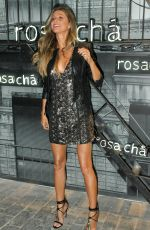 GISELE BUNDCHEN at Rosa Cha Summer Collection Lauch in Sao Paulo 08/16/2017