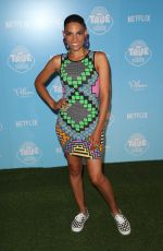 GOAPELE at True and the Rainbow Kingdom Premiere in Los Angeles 08/10/2017