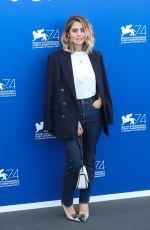 GRETA SCARANO at Jury Photocall at 74th Venice International Film Festival 08/30/2017