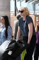 GWENDOLINE CHRISTIE at Heathrow Airport in London 07/30/2017