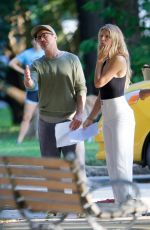 GWYNETH PALTROW on the Set of Aavengers 4 in Fayetteville 08/22/2017