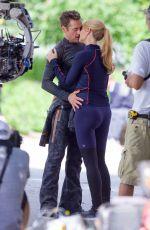 GWYNETH PALTROW on the Set of Avengers 4 in Fayetteville 08/22/2017