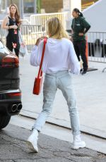 HAILEY BALDWIN Arrives at Zoe Conference Church Event in Los Angeles 08/06/2017