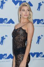 HAILEY BALDWIN at 2017 MTV Video Music Awards Press Room in Los Angeles 08/27/2017
