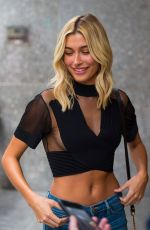 HAILEY BALDWIN at 2017 Victoria's Secret Fashion Show Casting in New York 08/21/2017