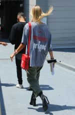 HAILEY BALDWIN at Zoe Church Conference at Wiltern in Los Angeles 08/05/2017