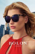 HAILEY BALDWIN for Bolon Eyewear, August 2017