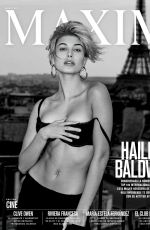 HAILEY BALDWIN in Maxim Magazine, Mexico August 2017 Issue