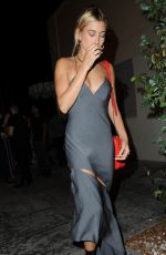 HAILEY BALDWIN Night Out in West Hollywood 08/03/2017