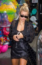 HAILEY BALDWIN Out and About in New York 08/02/2017