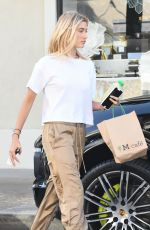 HAILEY BALDWIN Out and About in West Hollywood 08/04/2017