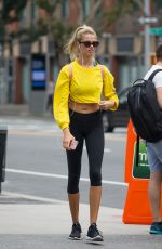 HAILEY CLAUSON Heading to a Gym in New York 08/19/2017