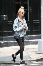 HAILEY CLAUSON Out and About in New York 08/09/2017