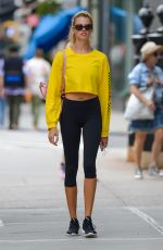 HAILEY CLAUSON Out and About in New York 08/14/2017