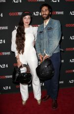 HAILEY GATES at Good Time Premiere in New York 08/08/2017