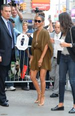 HALLE BERRY Arrives at Good Morning America in New York 08/03/2017