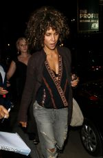 HALLE BERRY Night Out in Los Angeles 08/16/2017