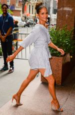 HALLE BERRY Out and About in New York 08/03/2017