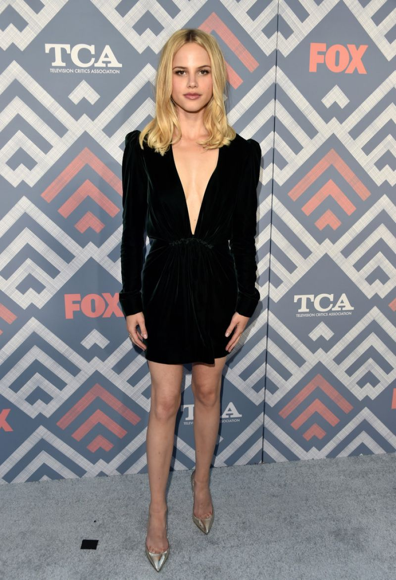 HALSTON SAGE at Fox All-star Party in West Hollywood 08/08/2017