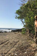 HANNAH FERGUSON in Bikini at a Beach