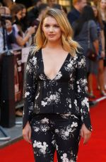 HANNAH MURRAY at Detroit Premiere in London 08/16/2017