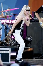 HAYLEY WILLIAMS Performs at Good Morning America