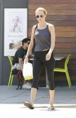 HEATHER GRAHAM Out Shopping in Los Angeles 07/31/2017
