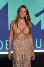 HEIDI KLUM at 2017 MTV Video Music Awards in Los Angeles 08/27/2017