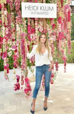 HEIDI KLUM at Intimates Campaign Launch at Bra Brunch in Los Angeles 08/17/2017