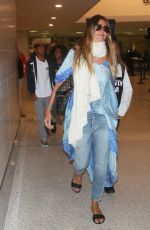 HEIDI KLUM at Los Angeles International Airport 08/13/2017