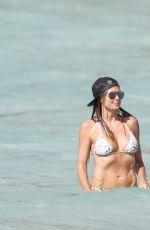 HEIDI KLUM in Bikini at a Beach in Caribbean 08/08/2017