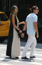 HEIDI KLUM Out for Lunch in New York 08/20/2017