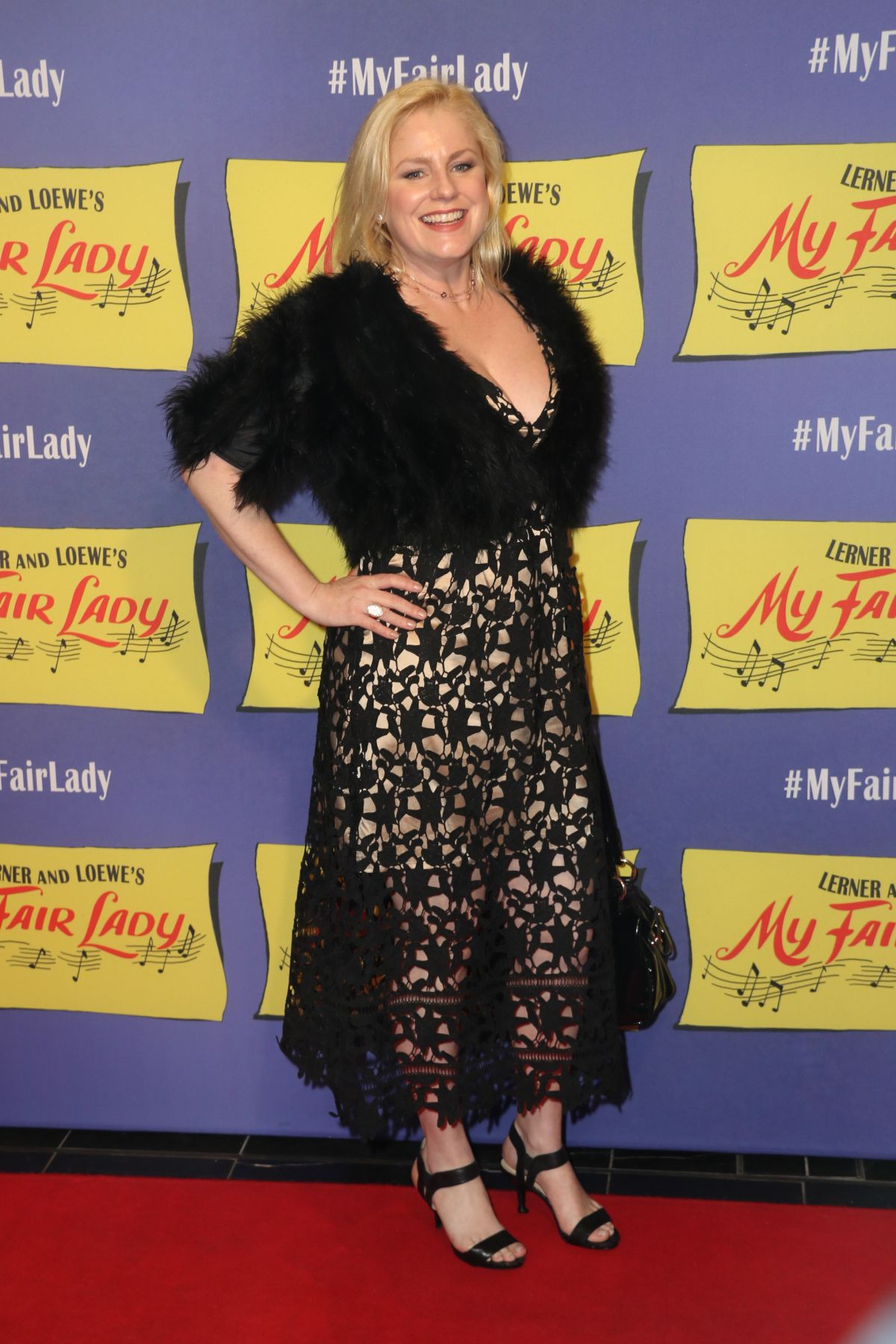 HELEN DALLIMORE at My Fair Lady Opening Night in Sydney 08/27/2017