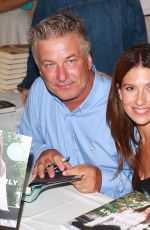 HILARIA BALDWIN at East Hampton Authors Night Event 08/12/2017