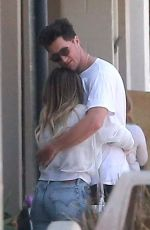 HILARY DUFF and Her Boyfriend Ely Sandvik Kissing Out in Los Angeles 08/20/2017